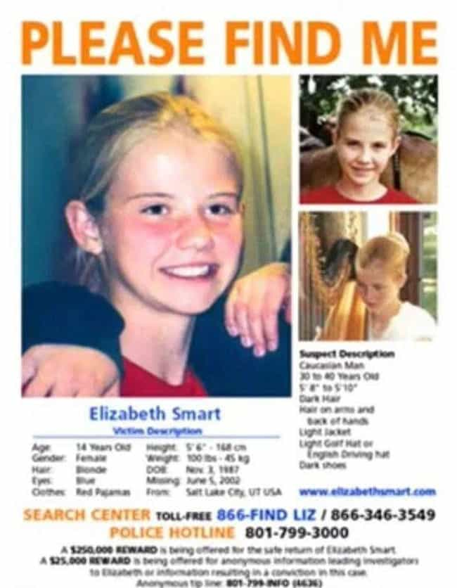 The Plan Was To Make Eli... is listed (or ranked) 2 on the list Unbelievable Facts About the Elizabeth Smart Kidnapping Case