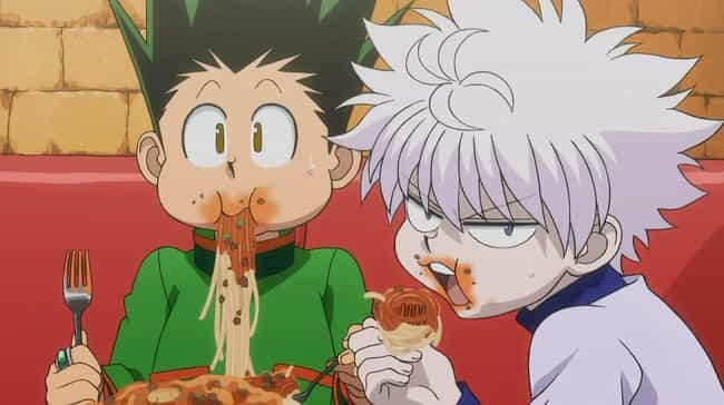 Gon And Killua From Hunter X H... is listed (or ranked) 1 on the list The Greatest Anime Bromances Of All Time