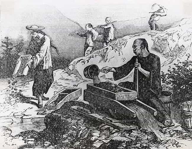 The First Immigrants Fro... is listed (or ranked) 3 on the list 12 Brutal Realities Of Being A Chinese Railroad Worker In The 1800s