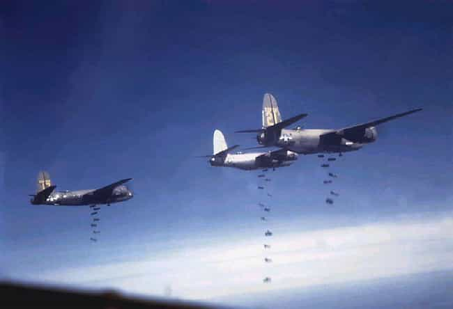 B-26 Bombers In Action is listed (or ranked) 2 on the list 23 Powerful Colorized Photographs From World War II