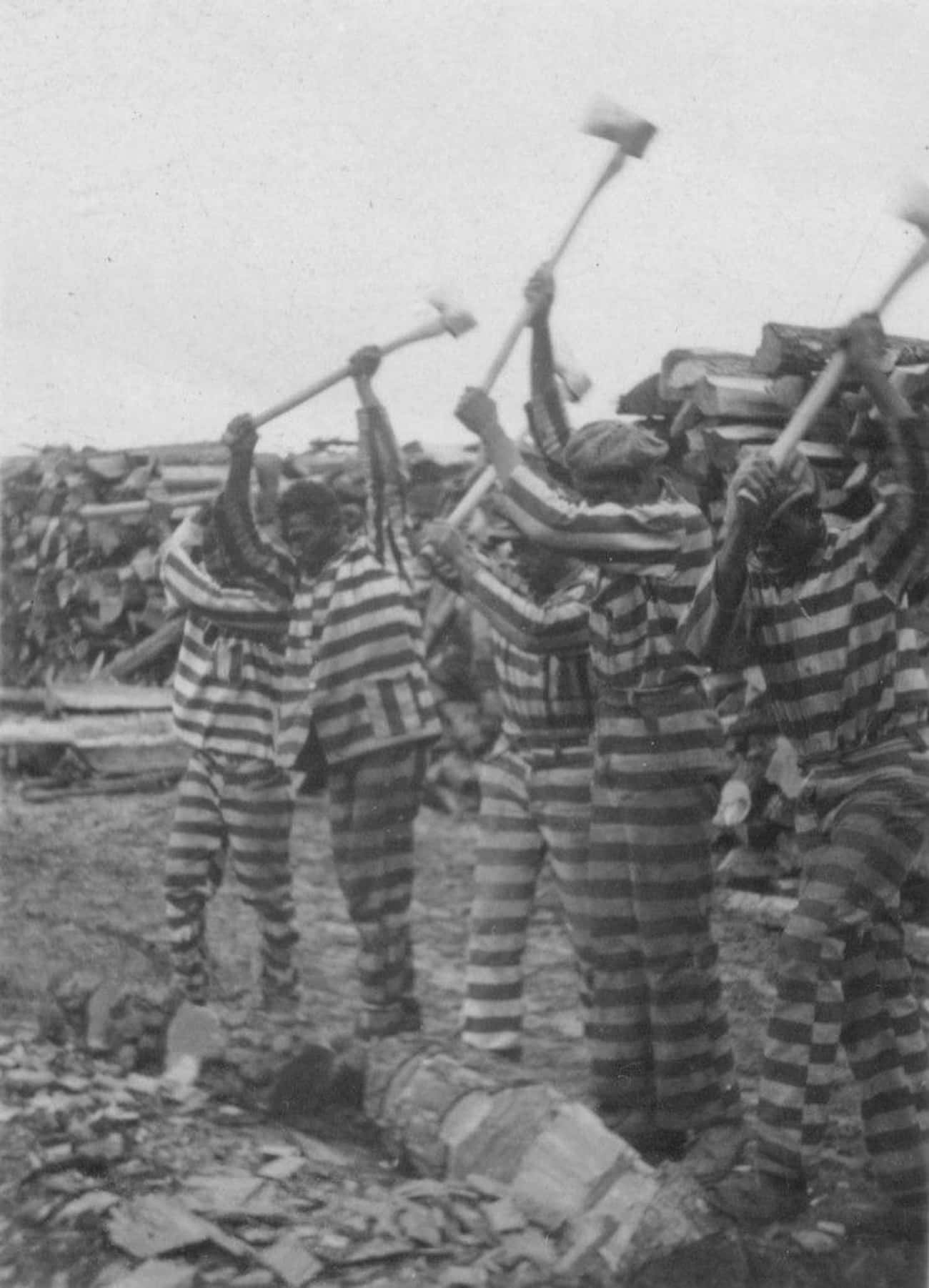 They Were Touted As Humanitari is listed (or ranked) 3 on the list Chain Gangs Were The South's Answer To Freeing The Slaves