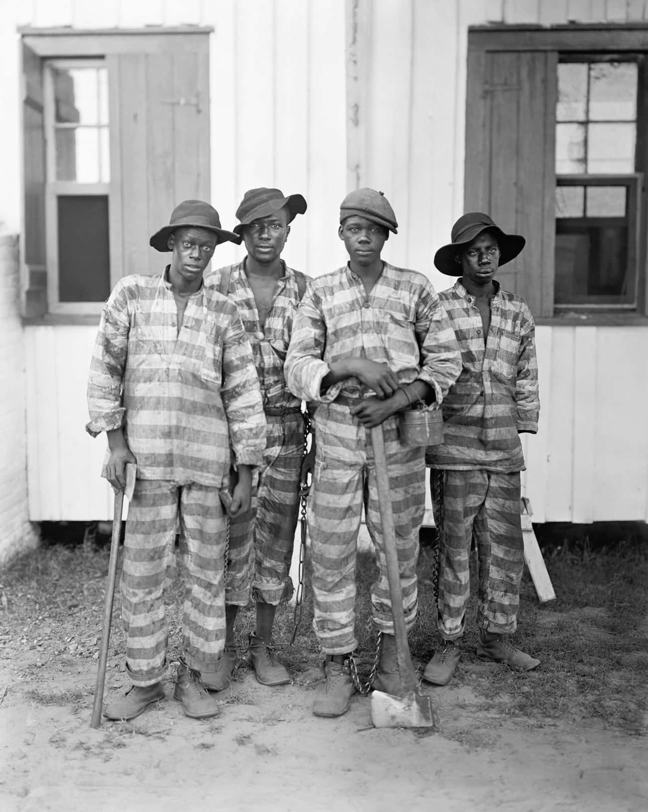African Americans Made Up The  is listed (or ranked) 2 on the list Chain Gangs Were The South's Answer To Freeing The Slaves