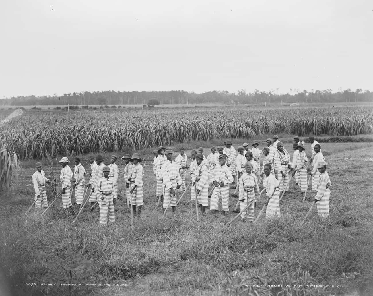 The Attire Was Intended To Be  is listed (or ranked) 4 on the list Chain Gangs Were The South's Answer To Freeing The Slaves