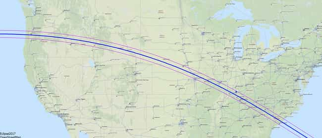 Here's The Best Places To View... is listed (or ranked) 2 on the list Mark Your Calendars - The US Will See Its First Total Solar Eclipse Since 1979