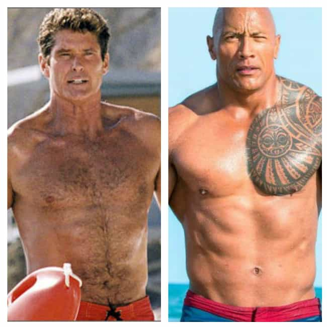 Mitch Buchannon is listed (or ranked) 1 on the list What The Original Cast Of Baywatch Looked Like Vs. The Stars Of The New Movie