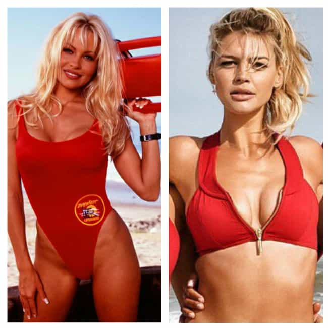 C.J. Parker is listed (or ranked) 3 on the list What The Original Cast Of Baywatch Looked Like Vs. The Stars Of The New Movie