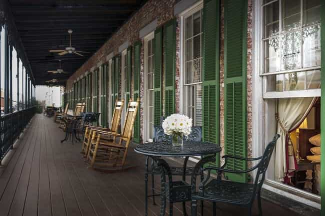 The Marshall House - Savannah,... is listed (or ranked) 2 on the list 17 Haunted Hotels In The US You Can Actually Stay In