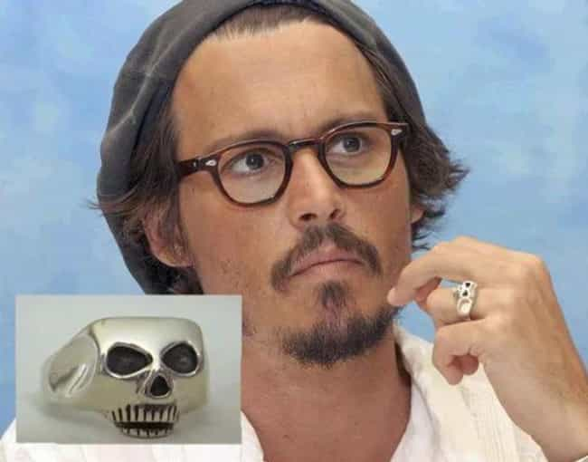 Skull Ring Just Like Joh... is listed (or ranked) 1 on the list Subtle Pirates Of The Caribbean Merchandise You Can Use To Rep Jack Sparrow