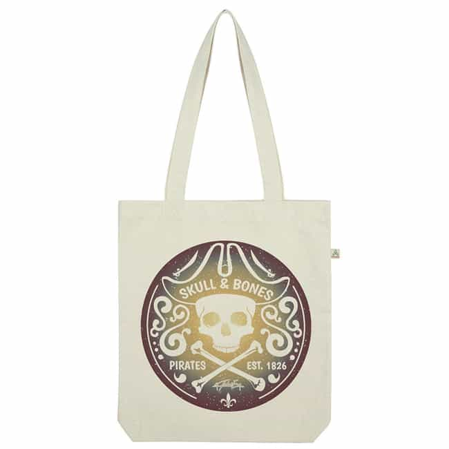 Pirate Tote Bag is listed (or ranked) 3 on the list Subtle Pirates Of The Caribbean Merchandise You Can Use To Rep Jack Sparrow