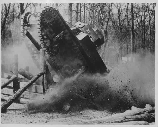 US Army Engineers Test A... is listed (or ranked) 1 on the list 17 Rare Photos of 20th Century Military Experiments