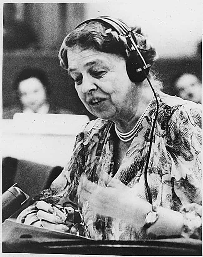 She Held Press Conferences At ... is listed (or ranked) 2 on the list Fascinating Things Most People Don't Know About Eleanor Roosevelt