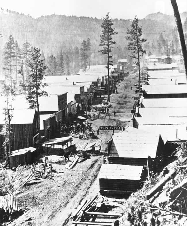 The Town Of Deadwood, Da... is listed (or ranked) 1 on the list 25 Fascinating Photos And Illustrations From Gold Rushes