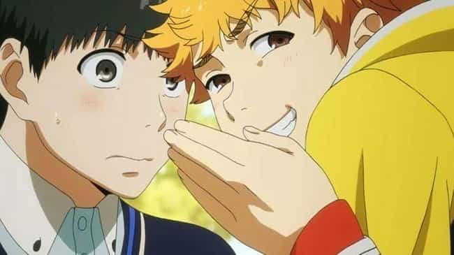 Kaneki And Hide From Tok... is listed (or ranked) 3 on the list The 18 Greatest Anime Bromances Of All Time