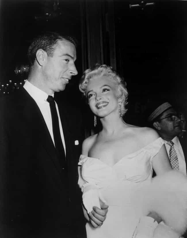 With Joe DiMaggio is listed (or ranked) 3 on the list 21 Incredible Photos of Marilyn Monroe You've Never Seen Before
