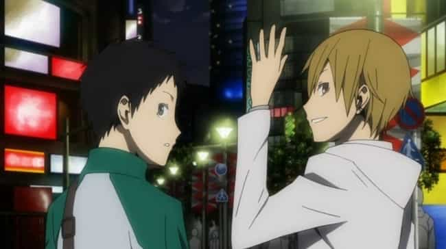 Mikado And Kida From Durarara is listed (or ranked) 4 on the list The Greatest Anime Bromances Of All Time