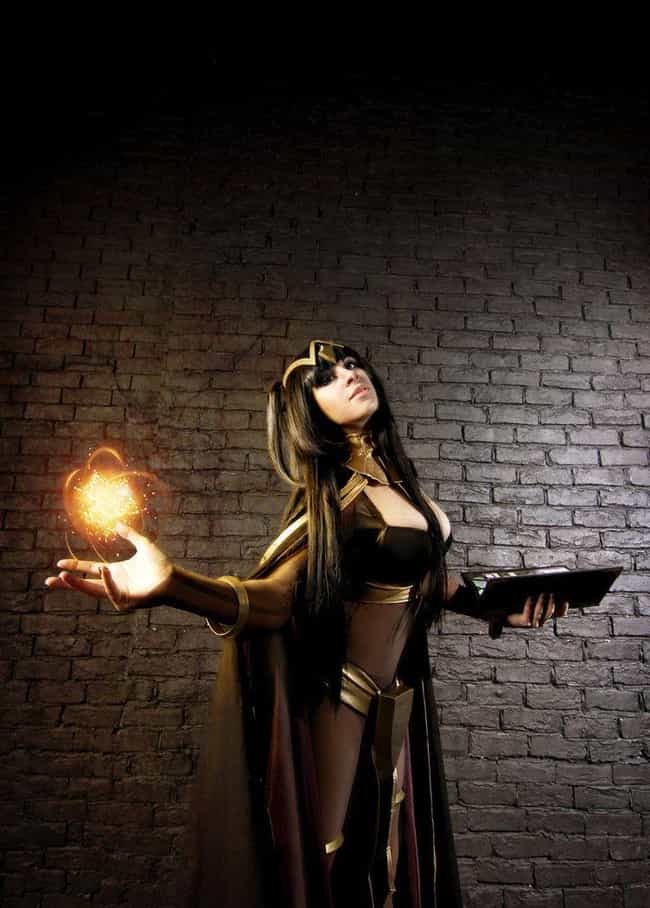 Tharja is listed (or ranked) 3 on the list 24 Gorgeous Cosplays That Put The Fire In Fire Emblem