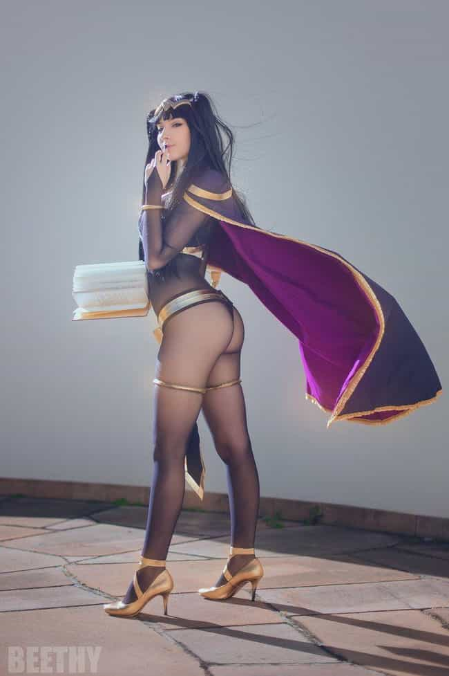 Tharja is listed (or ranked) 1 on the list 24 Gorgeous Cosplays That Put The Fire In Fire Emblem