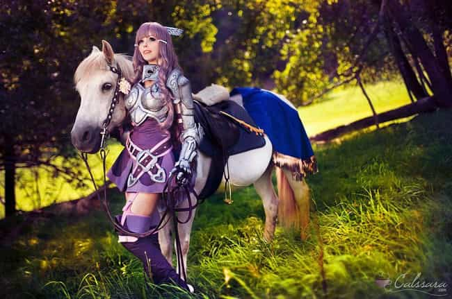Sumia is listed (or ranked) 2 on the list 24 Gorgeous Cosplays That Put The Fire In Fire Emblem