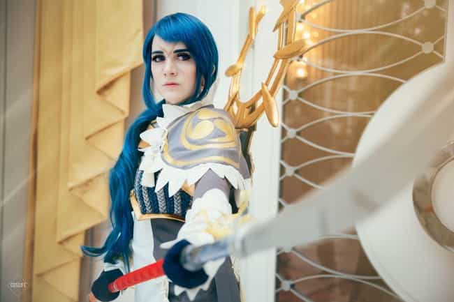 Reina is listed (or ranked) 4 on the list 24 Gorgeous Cosplays That Put The Fire In Fire Emblem