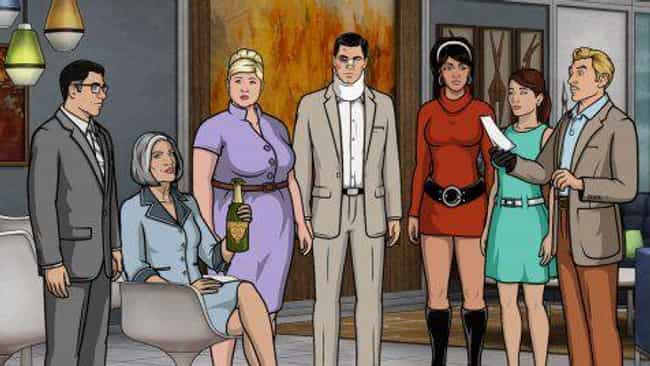 The Main Cast Represent ... is listed (or ranked) 1 on the list 17 Crazy Archer Fan Theories That Just Might Be True