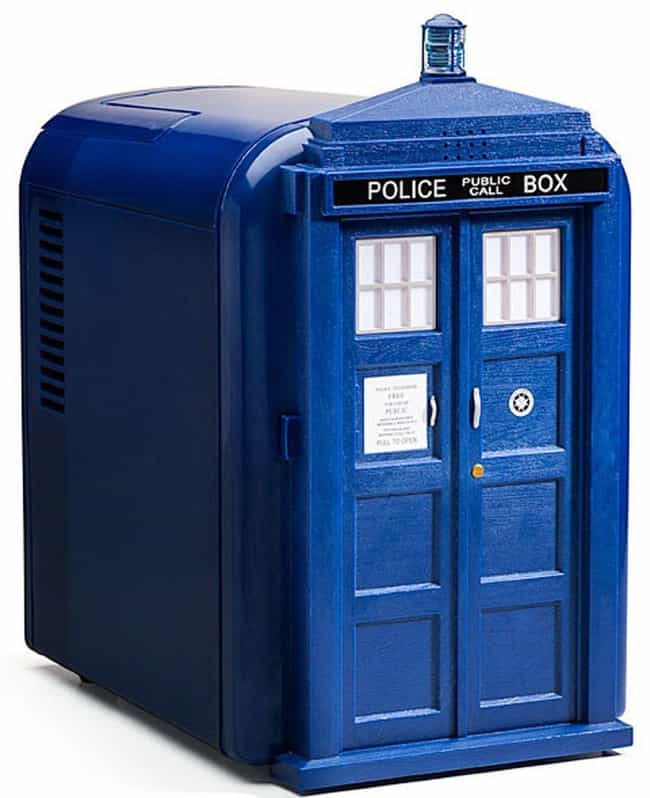 Doctor Who Tardis Mini F... is listed (or ranked) 2 on the list You Won't Get Through This List Of Nerdy Summer Gear Without Ordering Something