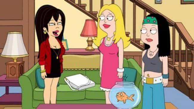 The Female Characters Actually... is listed (or ranked) 3 on the list American Dad! Is A Way Better Show Than Family Guy, And Here's Why