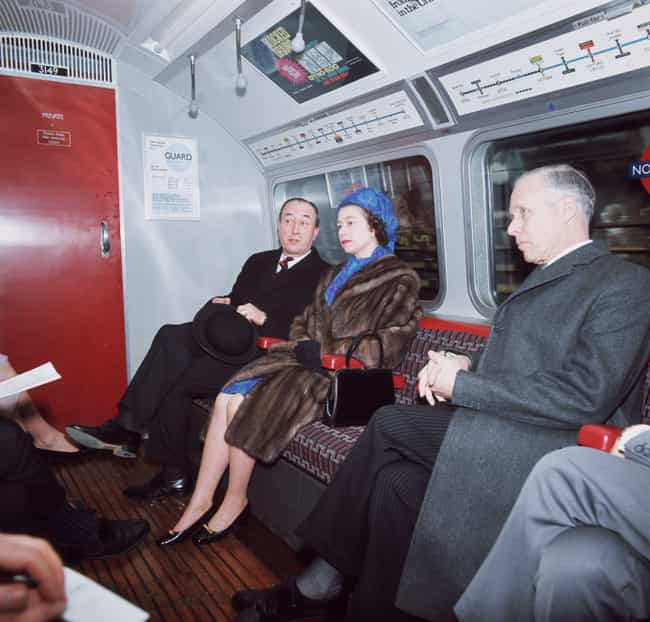 The Queen Takes The Tube... is listed (or ranked) 1 on the list 22 Vintage Photos Of People Riding The Tube