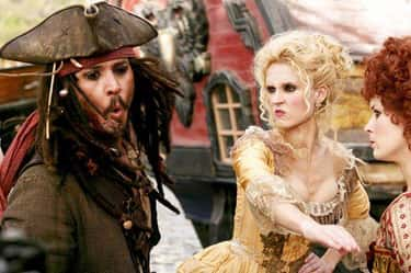 Jack Sparrow Gets Slapped By A is listed (or ranked) 1 on the list 14 Things That Happen In Every Frickin' Pirates Of The Caribbean Movie