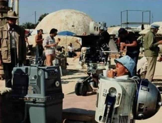 R2-D2 Needs A Snack, 'Star... is listed (or ranked) 3 on the list 30 Behind-The-Scenes Pictures That Totally Ruin The Movie Magic
