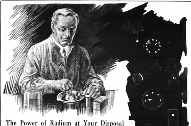 Workers Were Told It Was Safe is listed (or ranked) 3 on the list 14 Horrific Facts About The Women Forced To Get Radium Poisoning For Their Job