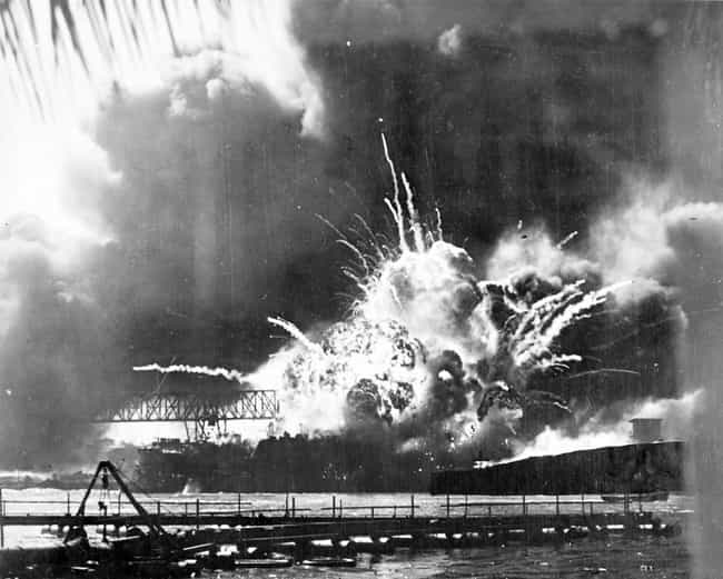 The Destruction Of The U... is listed (or ranked) 2 on the list 21 Grim Pictures From The Aftermath Of Pearl Harbor