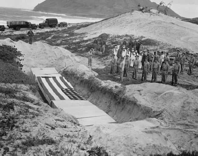 A Mass Grave For The Dec... is listed (or ranked) 3 on the list 21 Grim Pictures From The Aftermath Of Pearl Harbor
