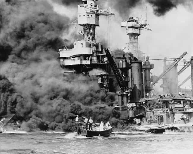 The USS West Virginia Bu... is listed (or ranked) 1 on the list 21 Grim Pictures From The Aftermath Of Pearl Harbor