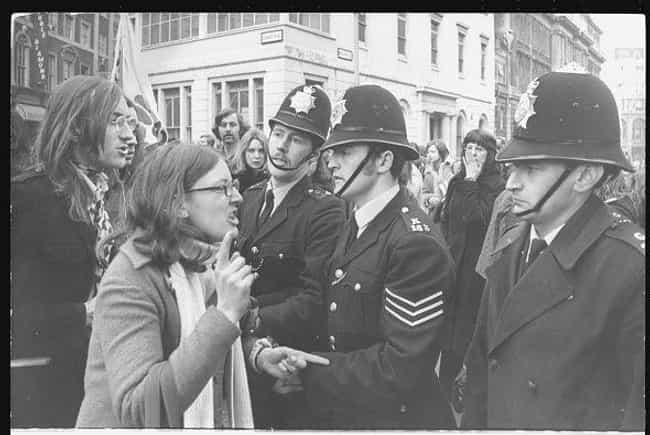 Women's Lib Demonstrator A... is listed (or ranked) 2 on the list Bra-Burningest Photos From The Women's Rights Movement