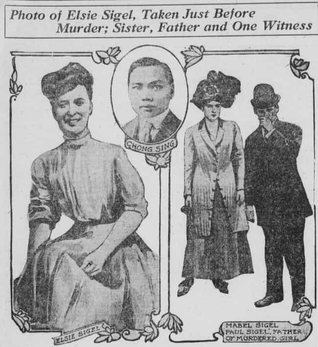 Elsie Sigel Was Strangle... is listed (or ranked) 2 on the list 11 Of The Grisliest Trunk Murders In History
