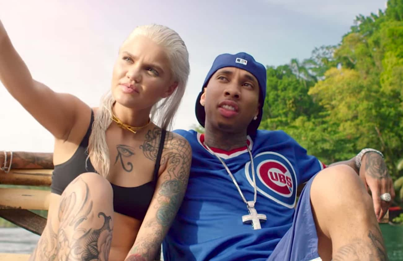 Amina Blue is listed (or ranked) 1 on the list Tyga Loves and Hookups