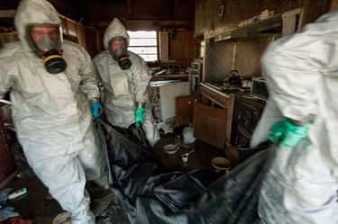 Cleaning Out A Contaminated House