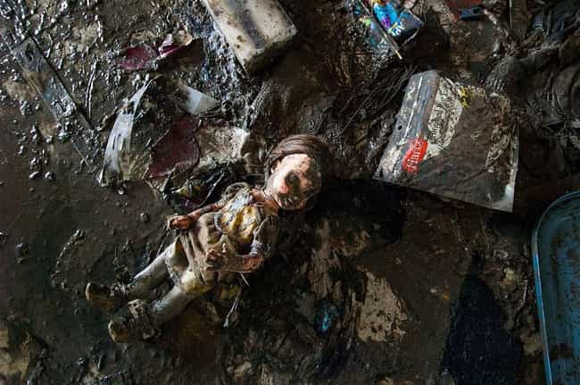 A Doll All On Her Own is listed (or ranked) 2 on the list 28 Sobering Pictures Of Hurricane Katrina's Aftermath