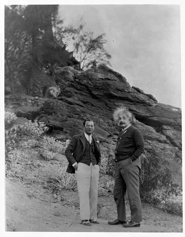 Chillin' On A Hillside, 19... is listed (or ranked) 4 on the list Photos Of Albert Einstein That Show The Guy Behind The Genius