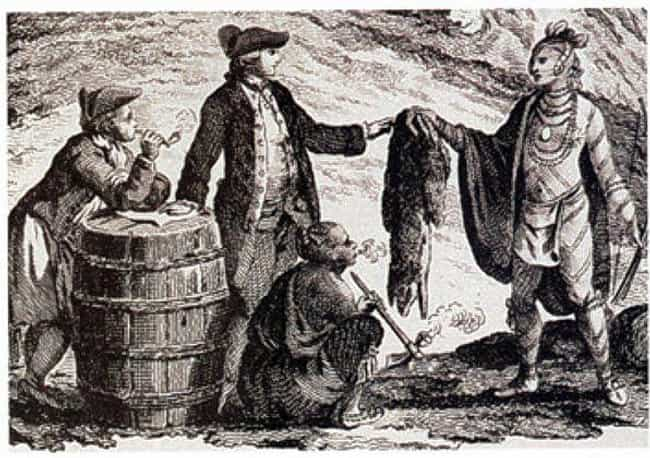 Colonists Used Alcohol To Tric... is listed (or ranked) 4 on the list The Insane True Story Behind America's History with Alcohol