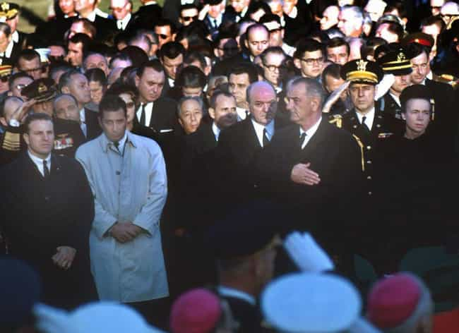 Lyndon B. Johnson At Joh... is listed (or ranked) 1 on the list Engrossing And Somber Photos From US Presidential Funerals