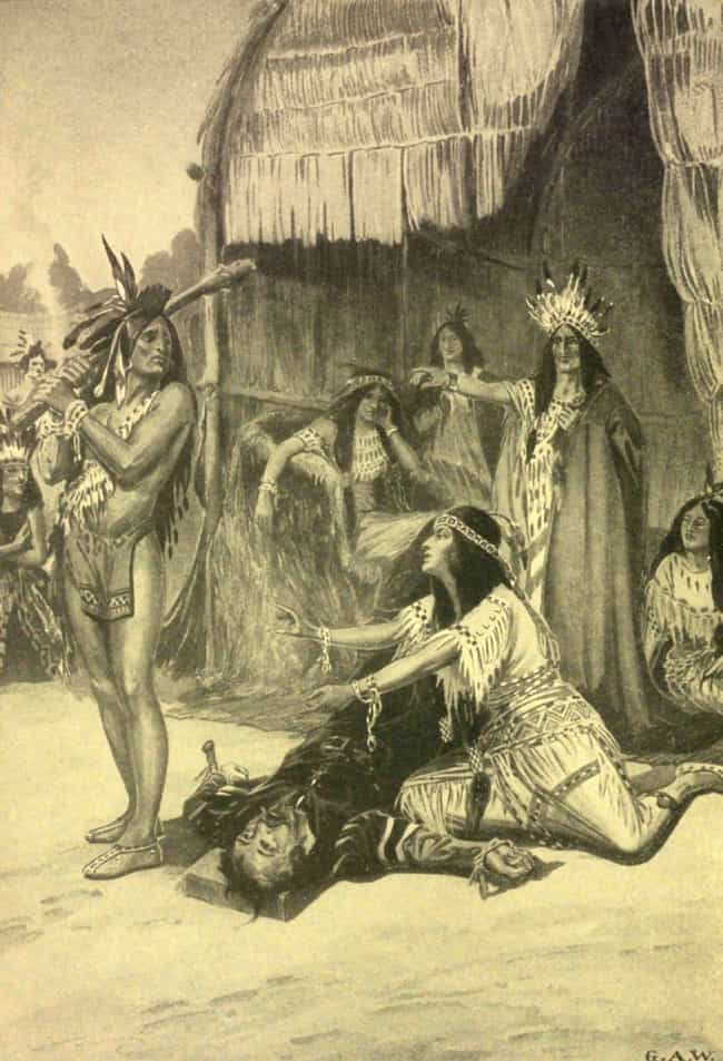 The Famous Powhatan Tribe Cere... is listed (or ranked) 5 on the list 11 Dark Facts About John Smith That Disney's Pocahontas Movie Left Out