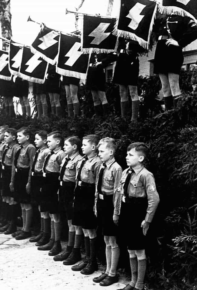 Partially Paramilitary, ... is listed (or ranked) 2 on the list 32 Photos Of Nazi Youths That Will Give You Nightmares