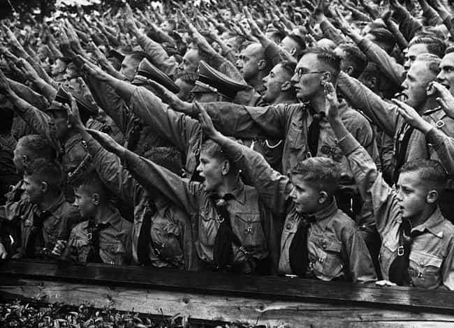 Known As The HJ, The Hit... is listed (or ranked) 3 on the list 32 Photos Of Nazi Youths That Will Give You Nightmares