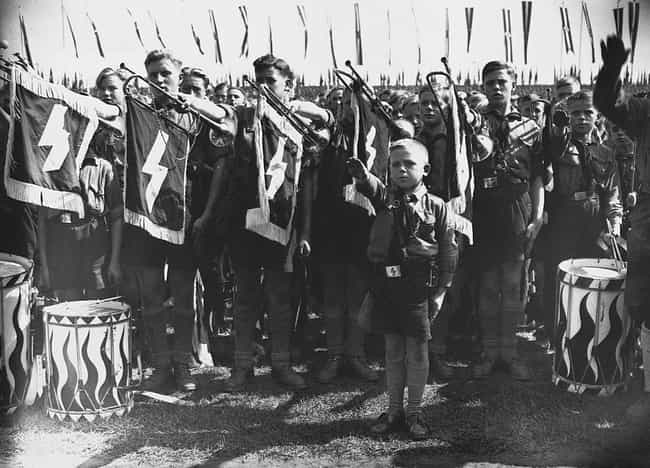 A Junior Branch (Deutche... is listed (or ranked) 4 on the list 32 Photos Of Nazi Youths That Will Give You Nightmares