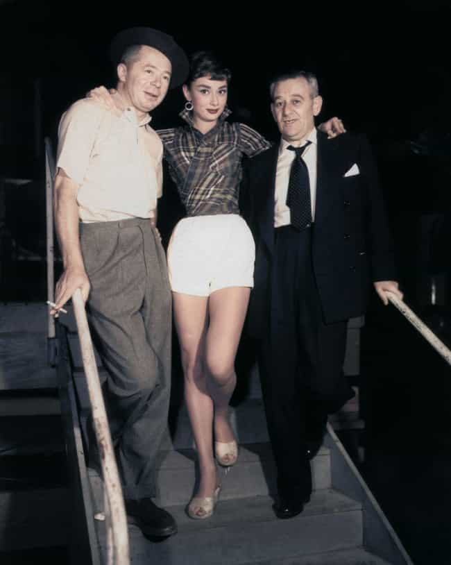On The Set Of Sabrina is listed (or ranked) 3 on the list 27 Rare Audrey Hepburn Photos
