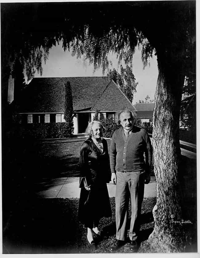 At Home In Pasadena is listed (or ranked) 2 on the list Photos Of Albert Einstein That Show The Guy Behind The Genius