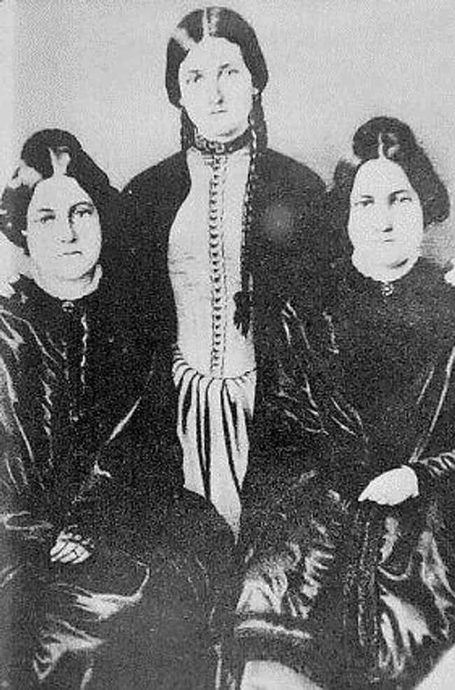 The Fox Sisters Kicked O... is listed (or ranked) 1 on the list 11 Famously Dubious Mediums, Psychics, And Supernatural Investigators
