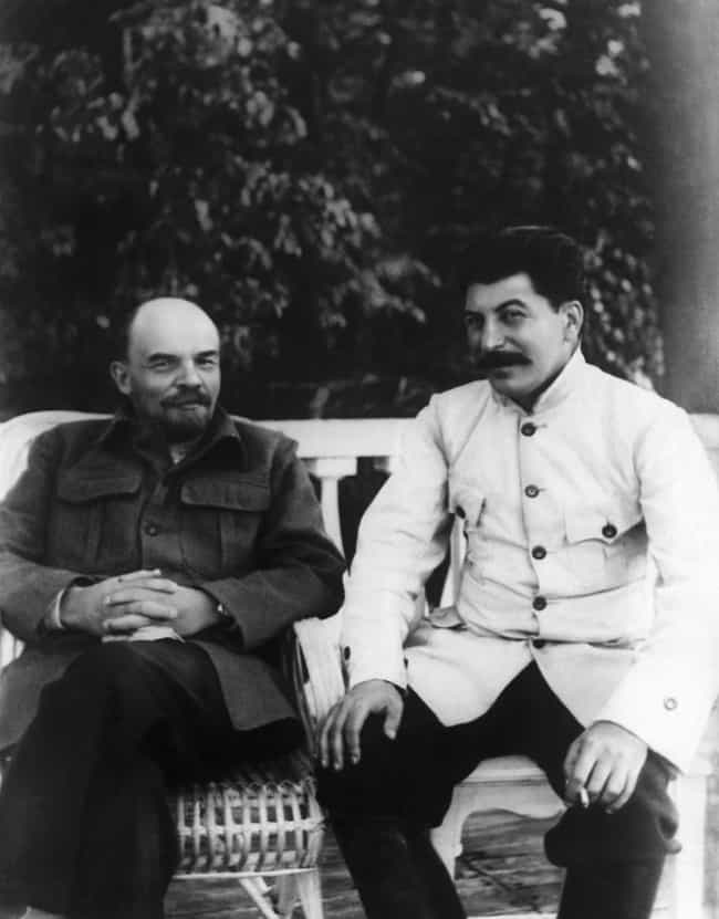 Stalin Clearly Wins The ... is listed (or ranked) 4 on the list 20 Historical Photos Of Joseph Stalin Kicking It Like He Wasn't A Monster