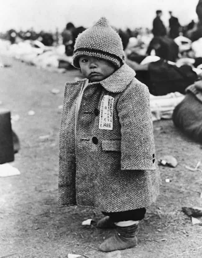 A Repatriated Child, Aug... is listed (or ranked) 2 on the list 33 Eye-Opening Historical Photos Of Japan After World War II
